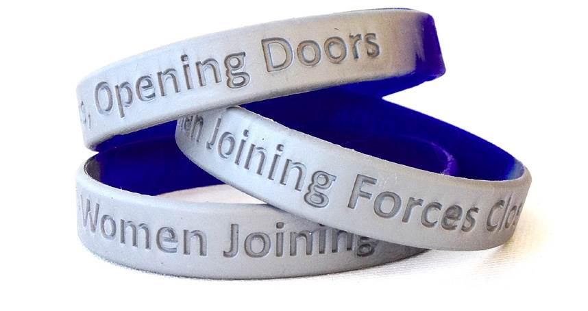 Purchase these wristbands to support the Women Veterans Grant!